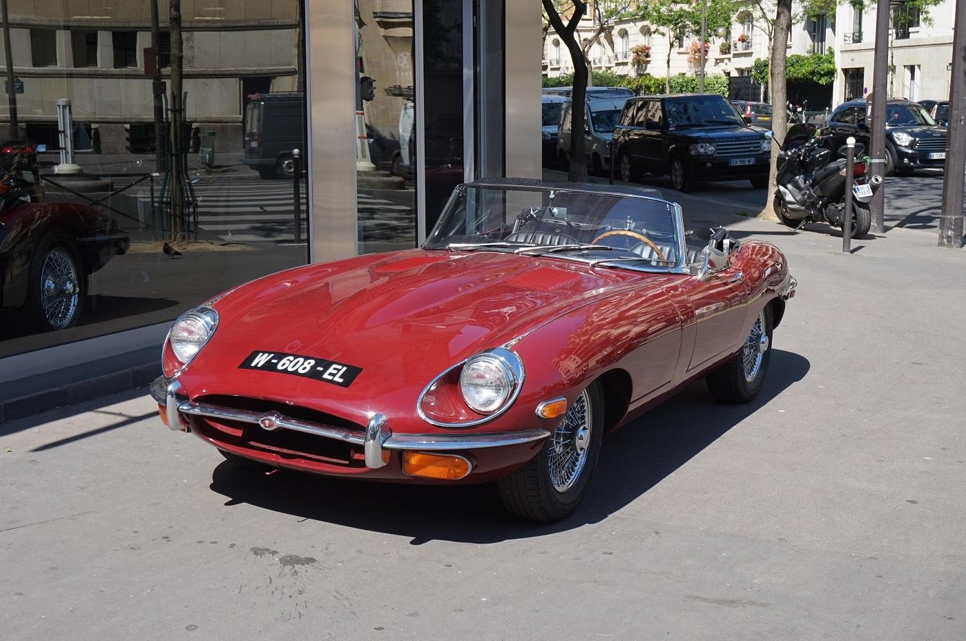 jaguar type e 1970 casting automobile classic. Black Bedroom Furniture Sets. Home Design Ideas