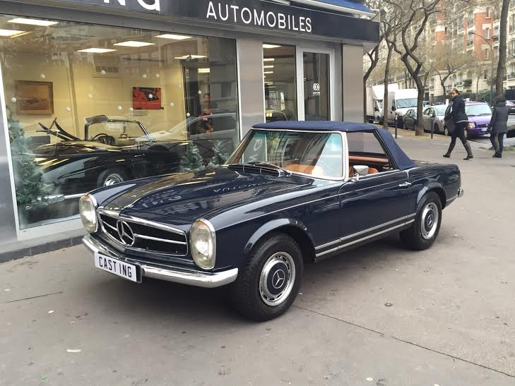 mercedes 280 sl pagode bleue casting automobile classic. Black Bedroom Furniture Sets. Home Design Ideas