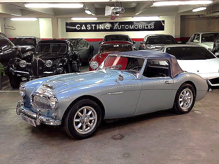 austin healey 3000 bt7 casting automobile classic. Black Bedroom Furniture Sets. Home Design Ideas