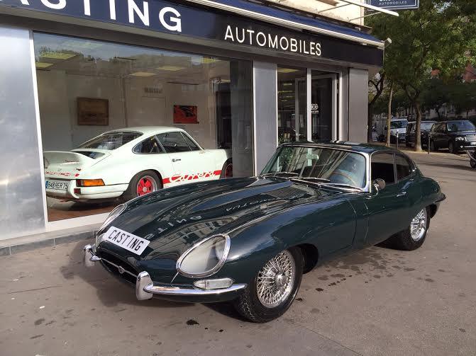 jaguar type e serie 1 3 8l casting automobile classic. Black Bedroom Furniture Sets. Home Design Ideas