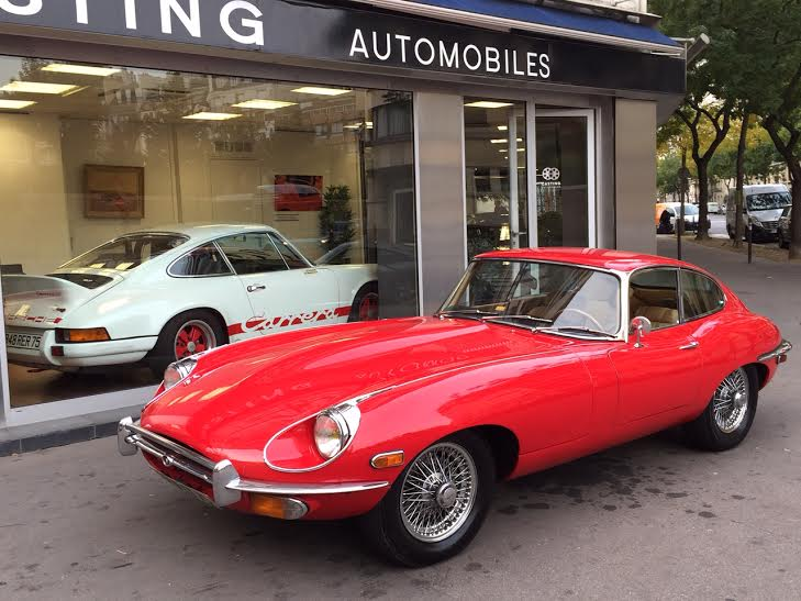 jaguar type e serie 2 coupe casting automobile classic. Black Bedroom Furniture Sets. Home Design Ideas