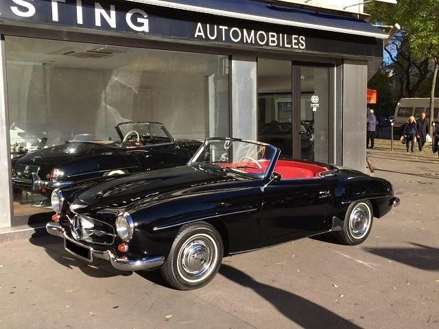 mercedes benz 190 sl de 1959 casting automobile classic. Black Bedroom Furniture Sets. Home Design Ideas
