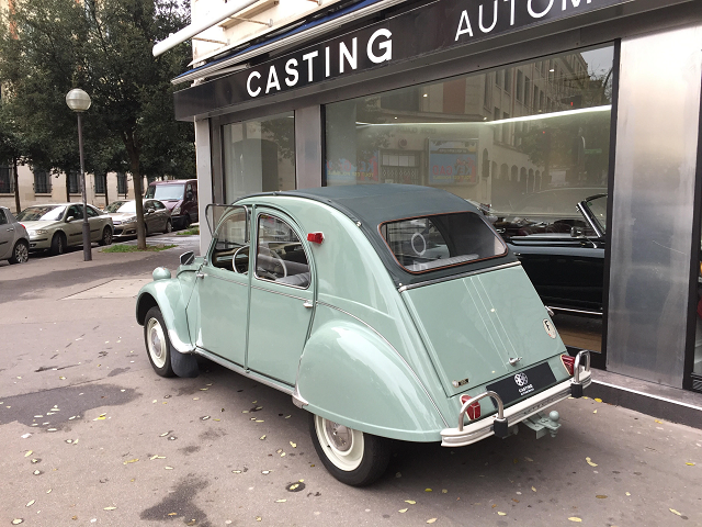 citroen 2 cv azam de 1964 casting automobile classic. Black Bedroom Furniture Sets. Home Design Ideas
