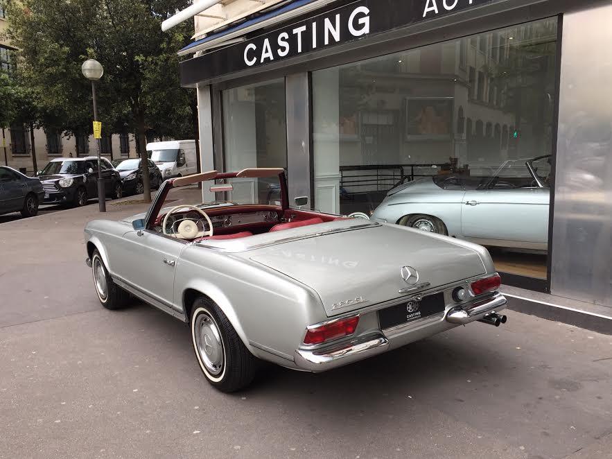 mercedes benz 280 sl pagode casting automobile classic. Black Bedroom Furniture Sets. Home Design Ideas