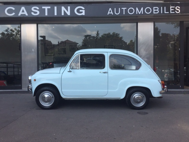 Fiat 600 casting automobile classic for Garage fiat paris